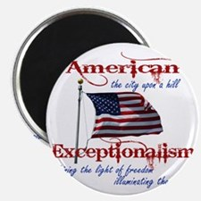 American Exceptionalism City Upon A Hill Magnet