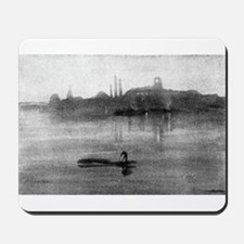 Nocturne - Whistler - 1878 Mousepad