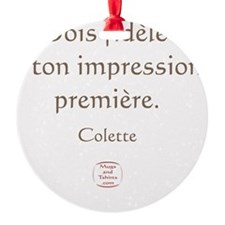 IMPRESSION PREMIERE Ornament