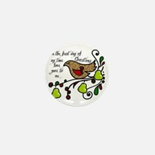 Partridge in a pear tree Mini Button