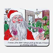 Santas buying! Mousepad
