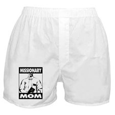 Missionary Mom - LDS T-Shirt - LDS Cl Boxer Shorts