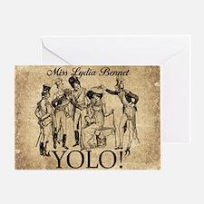 Lydia Bennet YOLO Greeting Card