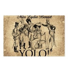 Lydia Bennet YOLO Postcards (Package of 8)
