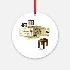 Gluten Free Kitchen Round Ornament