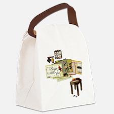 Gluten Free Kitchen Canvas Lunch Bag