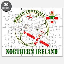 Northern Ireland World Football Puzzle
