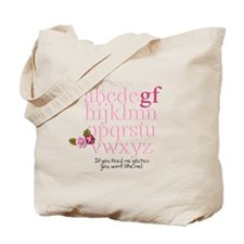 Gluten Free Alphabet Tote Bag