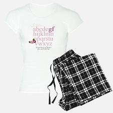 Gluten Free Alphabet Pajamas