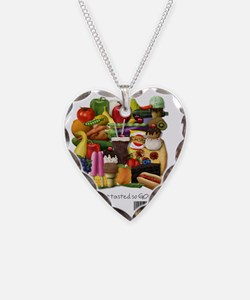 Gluten Free Food Necklace