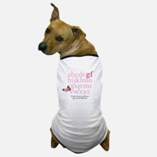Gluten Free Alphabet Dog T-Shirt
