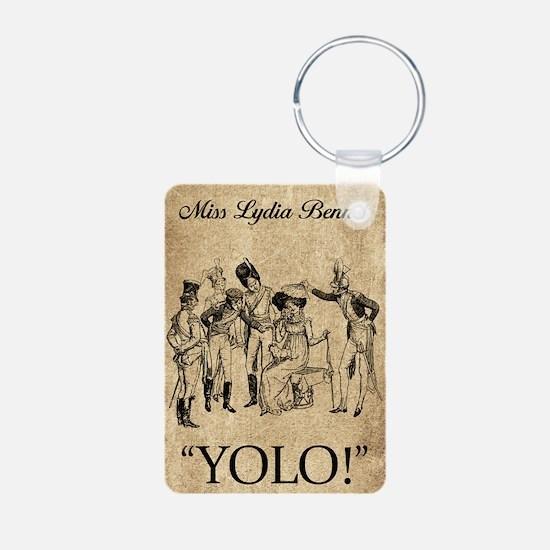 Lydia Bennet YOLO Aluminum Photo Keychain