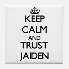 Keep Calm and trust Jaiden Tile Coaster
