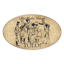 Lydia Bennet YOLO Decal