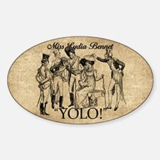 Lydia Bennet YOLO Decal