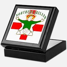 Northern Ireland Football Celebration Keepsake Box