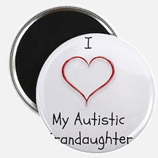 Tile Coaster I Love My Autistic Grandaughte Magnet