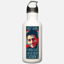 Paul Ryan hey girl Water Bottle