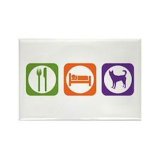 Eat Sleep Canaan Rectangle Magnet (100 pack)