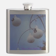 Purple Martin Village Flask