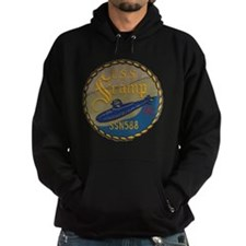 uss scamp patch transparent Hoodie