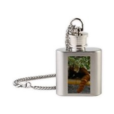 Red Panda Flask Necklace