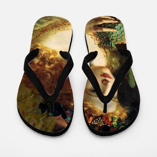 Sophie Gengembre Anderson Fairy Flip Flops