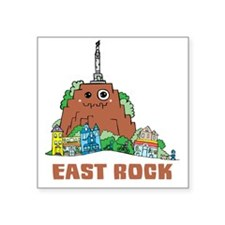 "East Rock Square Sticker 3"" x 3"""