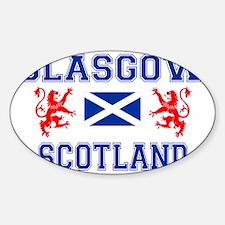 Glasgow Sco Blue for white Decal
