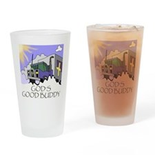 Gods Good Buddy (TS) Drinking Glass