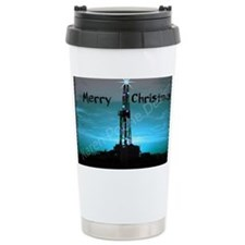 Oilfield Christmas Travel Mug