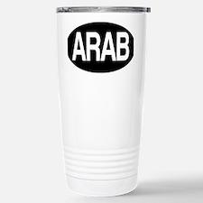 Arab black for orange Travel Mug