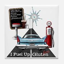 Fuel Up Gluten Free Tile Coaster