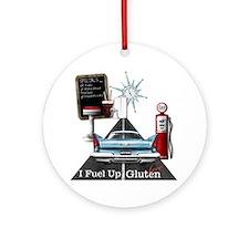 Fuel Up Gluten Free Round Ornament