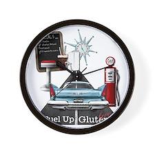 Fuel Up Gluten Free Wall Clock