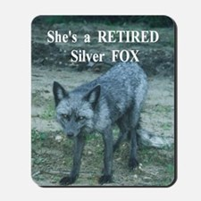 Shes a Fox Mousepad