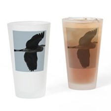 GreetingCard_Crane_4 Drinking Glass