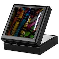 GreetingCard_Crayon_1 Keepsake Box