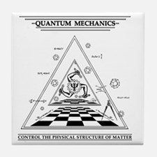Quantum Mechanics - Surreal Tile Coaster