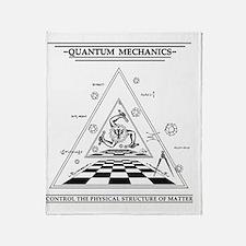 Quantum Mechanics - Surreal Throw Blanket
