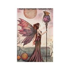 Molly Harrison Fantasy Art Calend Rectangle Magnet