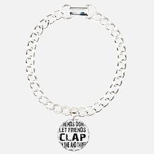 One and Three Charm Bracelet, One Charm