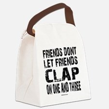 One and Three Canvas Lunch Bag