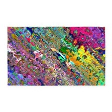 Abstract 3'x5' Area Rug