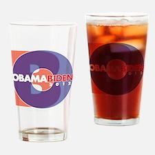 Obama Biden Wht CopyRt 2012 Drinking Glass