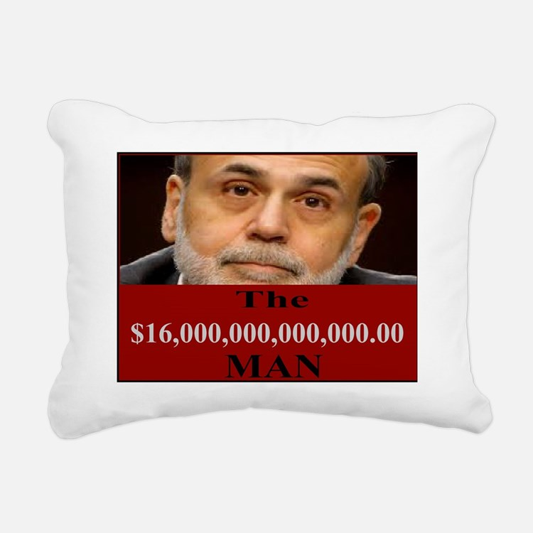 Ben Bernanke 16 Trillion Rectangular Canvas Pillow