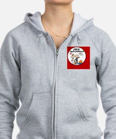 2013 Stick Bride and Groom Hone Zip Hoodie