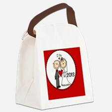 I Do Bride and Groom 2013 Canvas Lunch Bag