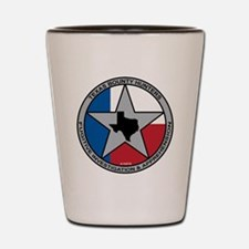 Texas Bounty Hunters Logo Shot Glass