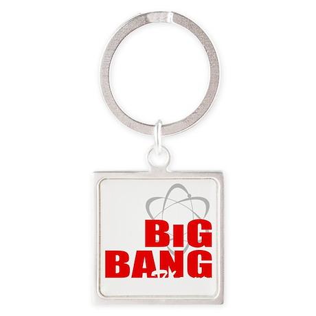 Big Bang theory Square Keychain